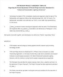 Business Partnership Agreement Between Two Companies