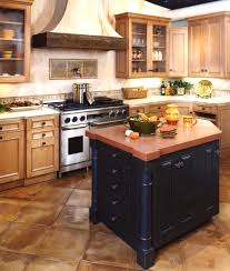 French Country Kitchens Ideas In Blue And White Colors Kitchen With