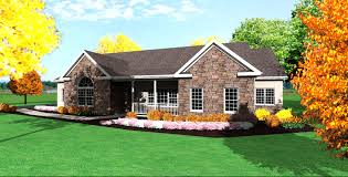 one story house plans with porch. One Story Ranch House Designs Styles Plans With Porch