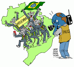 Opera Mundi: Charge do Latuff: Imprensa do exterior repercute processo de  impeachment contra Dilma Rousseff
