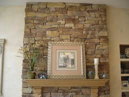 Fireplace Architecture Beautiful Stone In Modern Cultured ...