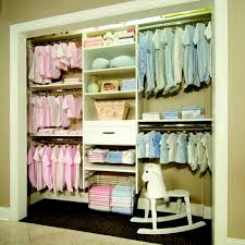 Most organized baby closet i've ever seen. For when I have twins one
