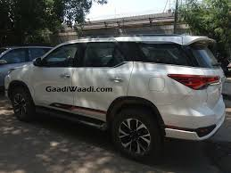 Toyota Fortuner TRD Sportivo Launched In India - Price, Specs ...