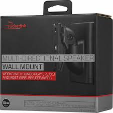 rocketfish multi directional speaker wall mount black rf hswm1a18 best