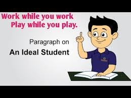essay on an ideal student 10 lines