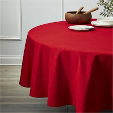 large red tablecloth red tablecloth and napkins linden ruby table cloth 90 in round high definition