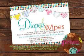 Diaper Shower Invitation Diaper Baby Shower Invitation Diaper And By Invitasticinvites