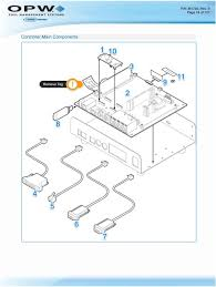 m1700 fsc3000 fuel site controller including fuel island terminal components