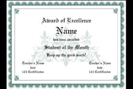 award certificates template award certificate simple open border classic styling 7 colors