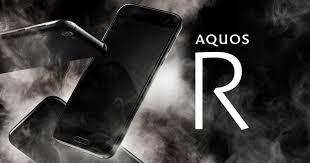 sharp aquos r. sharp aquos r comes with high-end specs, rotating dock aquos