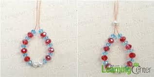 make crystal dangle for earrings