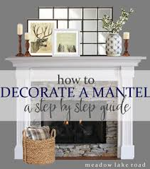step by step idea for decorating a mantel, fireplaces mantels, seasonal  holiday decor