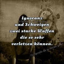 Ignoranz Und Schweigen Zwei Starke Waffen Picture