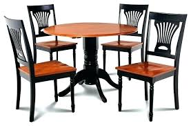 kitchen and dining room chairs dining table 5 piece set kitchen table 4 dining chairs black