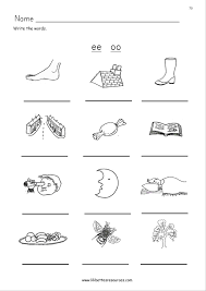 The activities can be used in kindergarten or 1st grade or for remedial work in other grades. Phonics Worksheets Oo Printable Worksheets And Activities For Teachers Parents Tutors And Homeschool Families