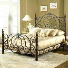 antique wrought iron beds for king size iron bedstead iron bed vintage e finish classic