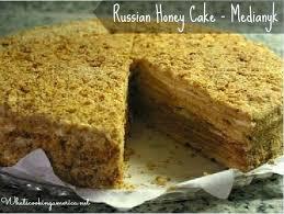 Russian Honey Cake Recipe Whats Cooking America