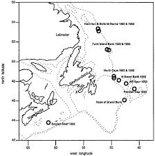 Bartons Cove Depth Chart Bathymetric Chart 200 And 1000 Mmisobaths Of The Northwest
