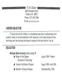 Resume Job Objective Fascinating Resume Career Objectives Samples Good Career Objectives Objective