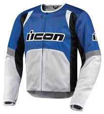icon overlord textile jacket jackets blue innovative design icon leather vests accessories
