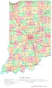 indiana map  online maps of indiana state
