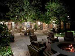 to landscape lighting lighting outdoor rooms