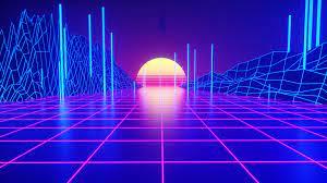 Amazing Retro Neon Wallpaper Desktop ...