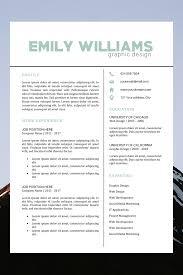 Creative Color Resume Resume Template Instant Download Modern Cv