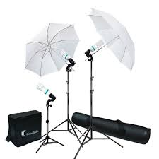 new 600w photo studio umbrella continuous lighting kit f portrait photography