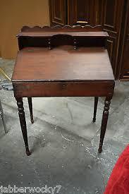 lift top desk. Antique Slanted Lift Top Desk