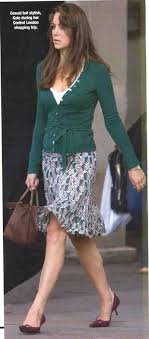 best kate middleton prior to becoming the duchess of kate middleton street style from before her marriage skirt and cardigan