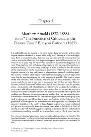 matthew arnold 1822 1888 from the function of criticism at the inside
