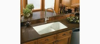 Granite Double Bowl Kitchen Sink Kohler Deerfield Undermount Kitchen Sink Best Kitchen Ideas 2017