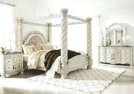 White Canopy Bed Frame Black Wood Canopy Bed Frame Queen Size Canopy ...