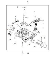 2013 chrysler 200 valve body related parts thumbnail 1