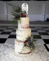 Naked Wedding Cakes Semi Naked Wedding Cakes Rustic Wedding