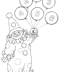 circus coloring sheets clown pictures free pages for preschool with balloon p theme daycare sheet circus elephant coloring