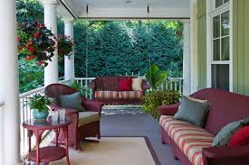covered porch furniture. startling indoor wicker furniture clearance decorating ideas images in porch traditional design covered