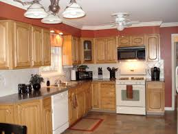 Orange Kitchens Orange Paint Kitchen Awesome Wall Color Interior Design With