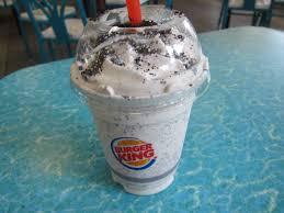 review burger king oreo shake