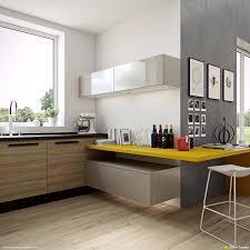 Kitchen Countertops In Yellow