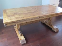 rustic dining table diy. New Diy Farmhouse Dining Room Table Colossal Fail Or Rustic Makeover Thrift One F