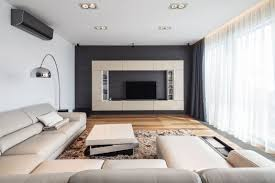 Two Story Living Room Curtains Two Story Penthouse Apartment Boasting A Gorgeous Sophisticated