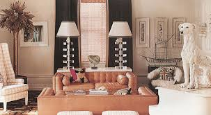 eclectic living room design ideas with brass palm tree and a dog statue modern ideas design furniture decorations room interior concepts decorating home charming eclectic living room ideas