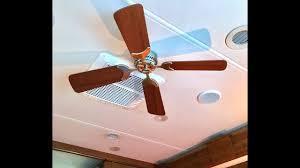 2nd rv 12v dc ceiling fan install