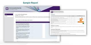 Sales Skills Assessment Training Measurement Tool Richardson