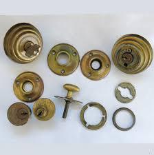 antique door knobs hardware. Antique Door Knobs Hardware Vintage 11 Piece Assortment Brass Rosettes Locks R