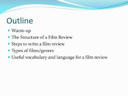 How To Write A Movie Review Ppt How To Write A Film Review Powerpoint Presentation