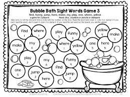 Third Grade Dolch Sight Words Printable Sight Word Games For Third Grade Download Them Or Print