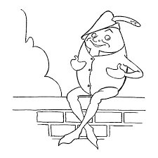 humpty dumpty coloring page coloring pages parade coloring pages coloring pages free humpty dumpty nursery rhyme